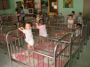Chinese Orphanages are overcrowded with children....who wait.