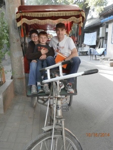 The rickshaw ride....highly recommended! Fun for all ages!