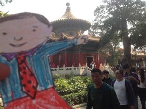 "Flat Stanley was our quietest traveller...but he liked to ""photo bomb"" our images!"